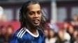 Ronaldinho Gaúcho em amistoso recente nos gramados russos