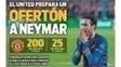 Capa do 'Sport' diz que Manchester United prepara grande oferta por Neymar