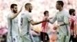 Benzema abriu o placar após assistência de Cristiano Ronaldo