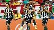 P paraguaio Zeballos fez o segundo gol do Botafogo neste domingo