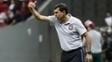 Fábio Carille comandou o Corinthians na derrota contra o Fluminense
