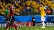 Thiago Silva manda jogador colombiano 'ficar quieto'