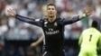 Cristiano Ronaldo abre o placar contra o Málaga
