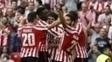 Athletic Bilbao superou o Sevilla por 3 a 1 em casa
