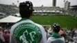 Torcedor da Chapecoense se despede de seus heróis na Arena Condá