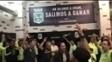 Jogadores do Atlético Nacional homenagearam a Chapecoense no vestiário