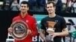 Murray e Djokovic não começaram bem a temporada