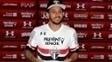 Wellington Nem foi apresentado como novo jogador do São Paulo