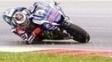 Jorge Lorenzo durante treino da MotoGP