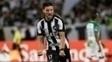 Rodrigo Pimpão comemora gol do Botafogo contra o Atlético Nacional