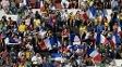 Torcedores da França estão em grande número no Brasil