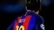 Estátua de Lionel Messi em Buenos Aires foi alvo de vandalismo
