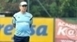 Marcelo Oliveira, durante treino do Palmeiras