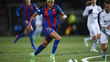 A brasileira Andress Alves defende as cores do Barcelona