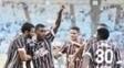 Wendel Comemora Gol Fluminense Flamengo Campeonato Brasileiro 18/06/2017