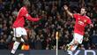 Lukaku comemora o gol de empate contra o CSKA Moscou