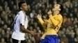 Zagueiro Aderllan conseguiu frustrar Messi no primeiro tempo