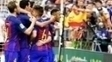 Barcelona Comemora Gol Valencia Campeonato Espanhol 22/10/2016