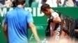 Andy Murray após a derrota para Albert Ramos-Viñolas em Monte Carlo