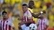 Ortiz torceu o tornozelo na partida contra o Equador