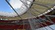 O estádio Mané Garrincha recebeu 40 eventos neste ano