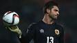 Jamie Robba, goleiro da seleção de Gibraltar