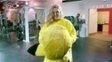 Ronda já treinou vestida de Pikachu