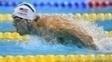 Michael Phelps conseguiu se classificar nos 200m borboleta