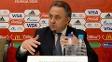 Vitaly Mutko, ministro dos Esportes da Rússia, em entrevista coletiva sobre a Copa-18
