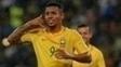 Gabriel Jesus, ex-Palmeiras e atualmente no Manchester City, é o 9 da seleção e ficou de fora por estar lesionado.