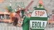 Ebola afeta principalmente três países da África