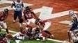 James White anota o touchdown decisivo na prorrogação do Super Bowl LI