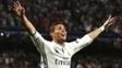 Cristiano Ronaldo vibra após marcar contra o Bayern e colocar o Real nas semifinais da Champions League