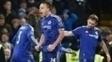 Terry faz gol de letra aos 53min do 2º tempo, e  Chelsea empata com Everton