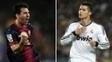 Messi x Ronaldo, duelo esperado em Barcelona x Real Madrid