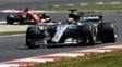Lewis Hamilton e Sebastian Vettel travaram um duelo à parte no GP da Espanha
