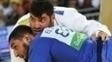 Islam El Shehaby (azul) não cumprimentou Or Sasson após duelo pela Rio 2016