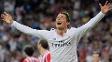 Cristiano Ronaldo comemora: três gols contra o Bilbao e recorde de 'hat-tricks'