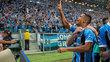 Cícero fez o gol da vitória do Grêmio diante do Lanús