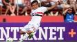 Auro foi bem com a camisa do São Paulo no jogo contra o Sport
