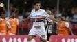 Marcinho anotou o único gol do São Paulo contra o Atlético-MG