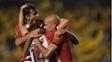 Presidente-atleta, Verón esteve em campo na vitória do Estudiantes