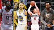 Harden, Curry, Griffin e Conley