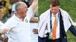 Luiz Felipe Scolari e Louis van Gaal: pensamentos diferentes para o terceiro lugar