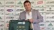 Novo diretor de futebol, Alexandre Mattos, é apresentado no Palmeiras