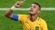 Neymar Comemora Gol Brasil Alemanha Final Futebol Rio-2016 20/08/2016
