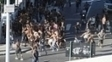 Torcedores do Botafogo e do Flamengo entraram em confronto
