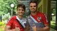 Rodrigo Caio e Lucão se recuperam de lesões sofridas no segundo semestre
