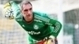 Fernando Prass Treino Palmeiras 09/05/2016