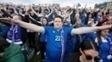 Islandia Torcida Reykjavik Inglaterra Euro-2016 27/06/2016